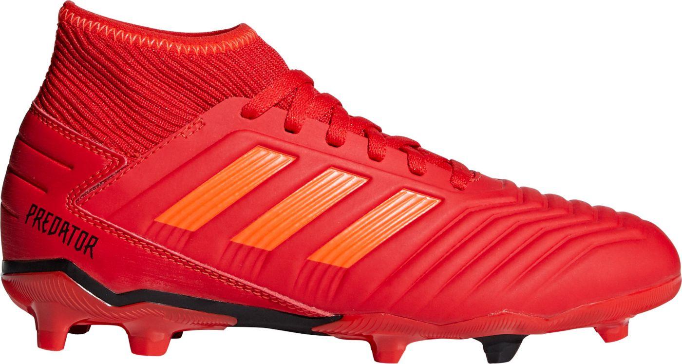 adidas Kids' Predator 19.3 FG Soccer Cleats