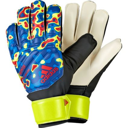 adidas Predator Fingersave Junior Soccer Goalkeeper Gloves. noImageFound cc6fde16ab99