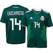 "adidas Youth Mexico Javier ""Chicharito"" Hernandez #14 Stadium Home Replica Jersey"
