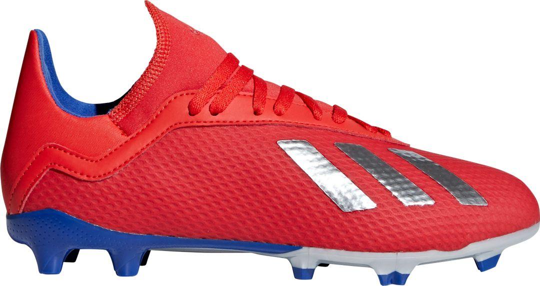 0e43b7cb adidas Kids' X 18.3 FG Soccer Cleats | DICK'S Sporting Goods
