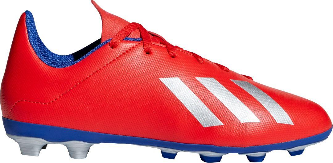 on sale 49b47 a783f adidas Kids' X 18.4 FXG Soccer Cleats