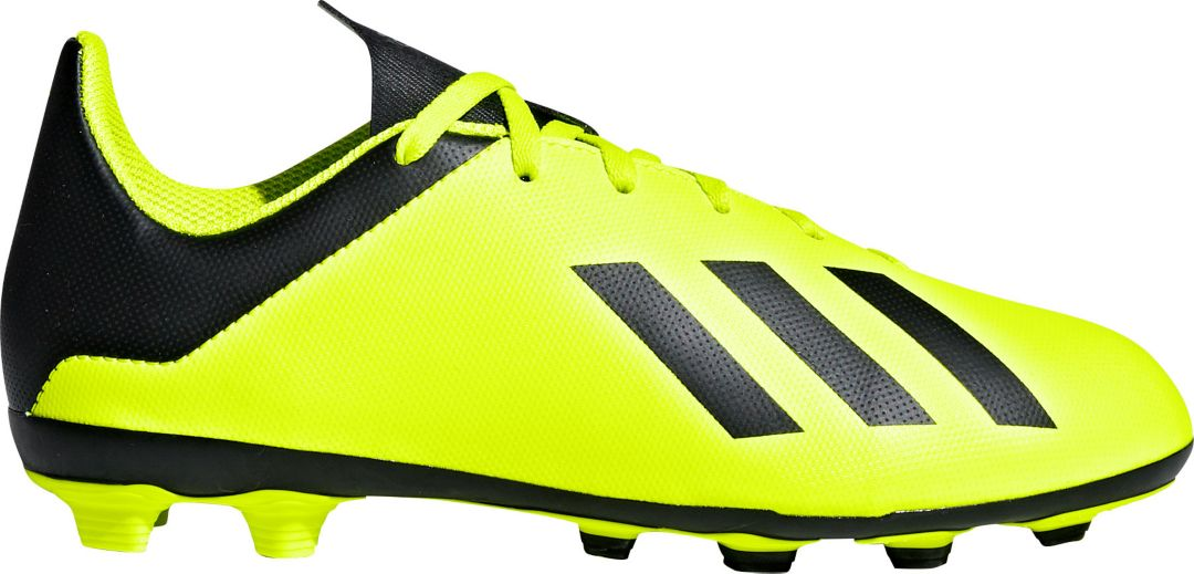 17312f08a adidas Kids  X 18.4 FXG Soccer Cleats 1