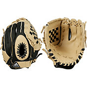 adidas Youth 9.5' Triple Stripe Series T-Ball Glove 2019