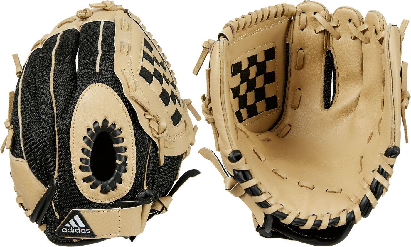 "adidas Youth 9.5"" Triple Stripe Series T-Ball Glove"