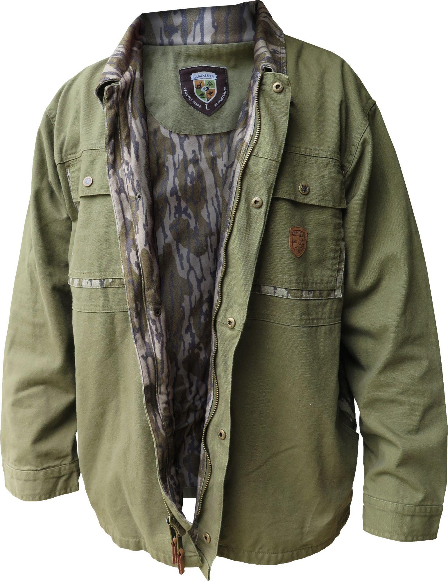 GameKeepers Men's Field Hunting Coat, Size: Medium, Brown