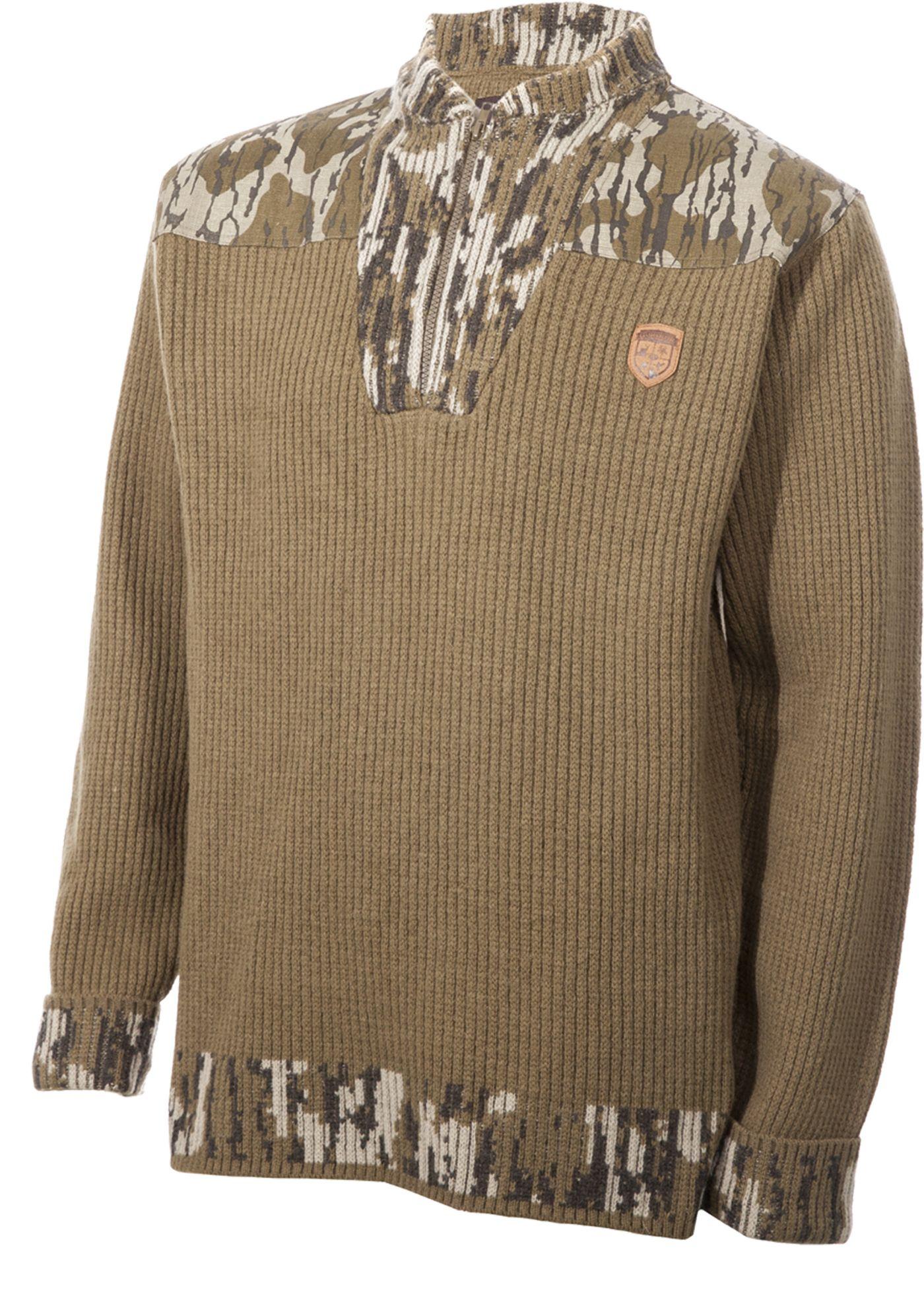 GameKeepers Men's Woodsman Merino Wool Hunting Sweater