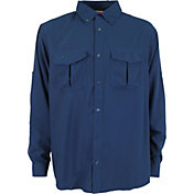 AFTCO Men's Rangle Long Sleeve Button Down Shirt