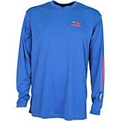 AFTCO Men's Spangled Long Sleeve Shirt