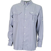 AFTCO Men's Sirius Long Sleeve Button Down Shirt