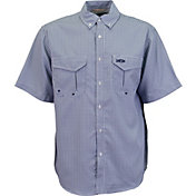 AFTCO Men's Sirius Short Sleeve Button Down Shirt