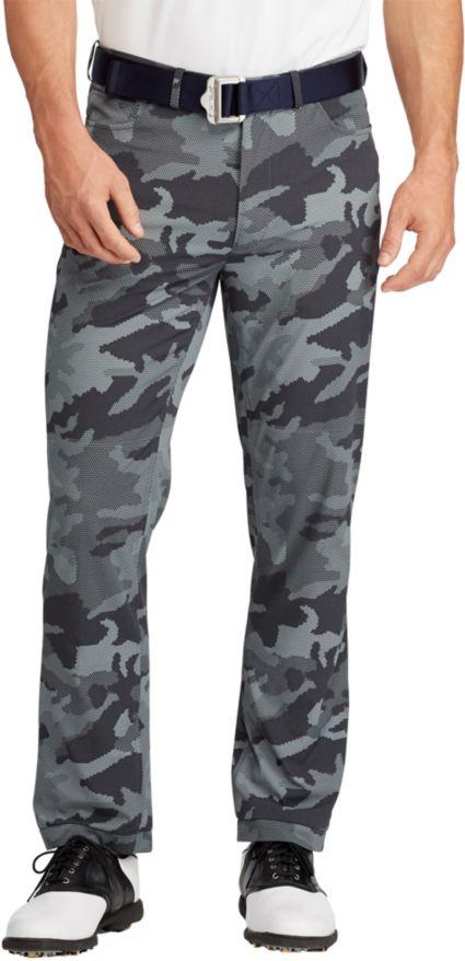 RLX Golf Men's Billy Horschel 5 Pocket Tech Camo Golf Pants