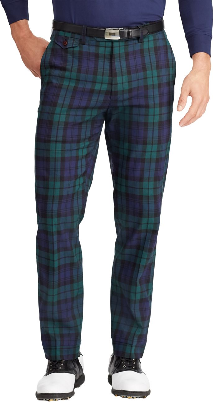 nice cheap low price sale retro Polo Golf Men's Blackwatch Tartan Golf Pants | Golf Galaxy