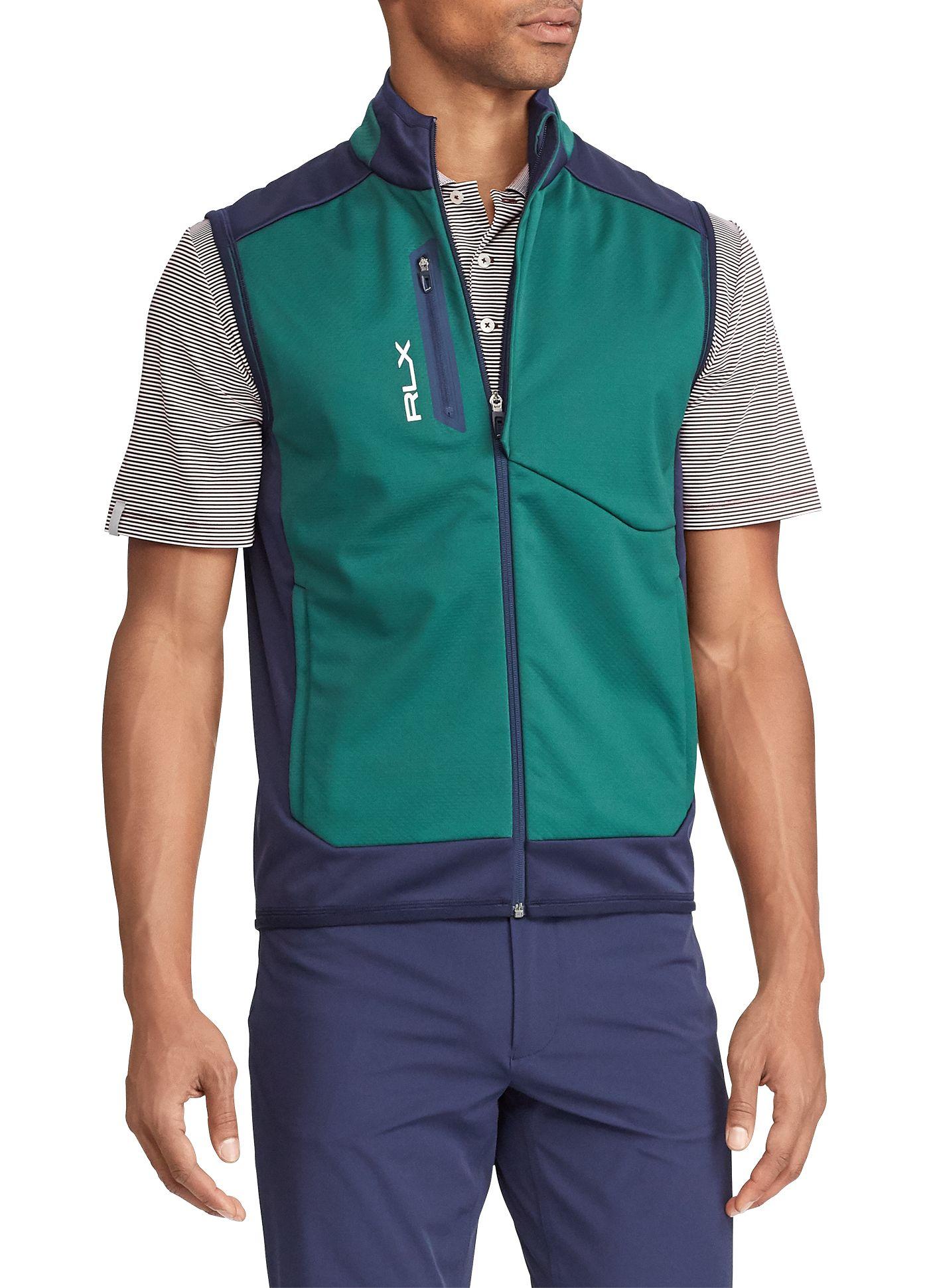 RLX Golf Men's Bonded Softshell Golf Vest