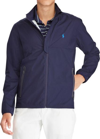 Polo Golf Men's Packable Windbreaker Golf Jacket