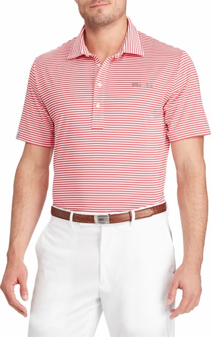 RLX Golf Men's Feed Stripe Golf Polo