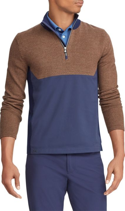RLX Golf Men's Hybrid Sweater ¼ Zip Golf Pullover