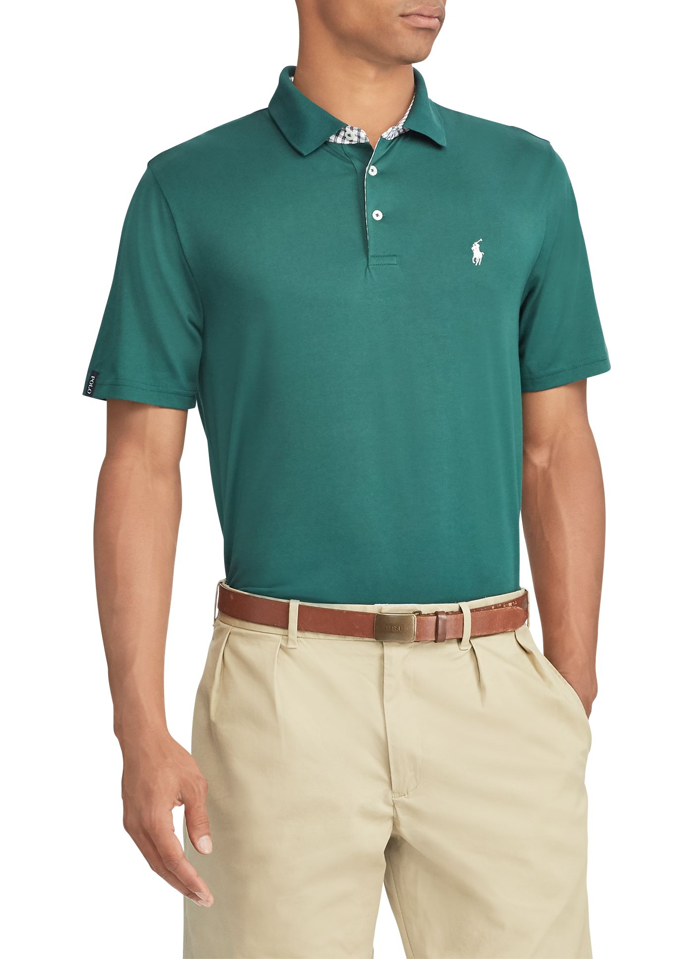 Polo Golf Men's Performance Lisle Golf Polo