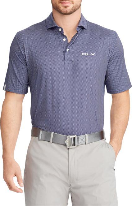 RLX Golf Men's Dot Airflow Golf Polo
