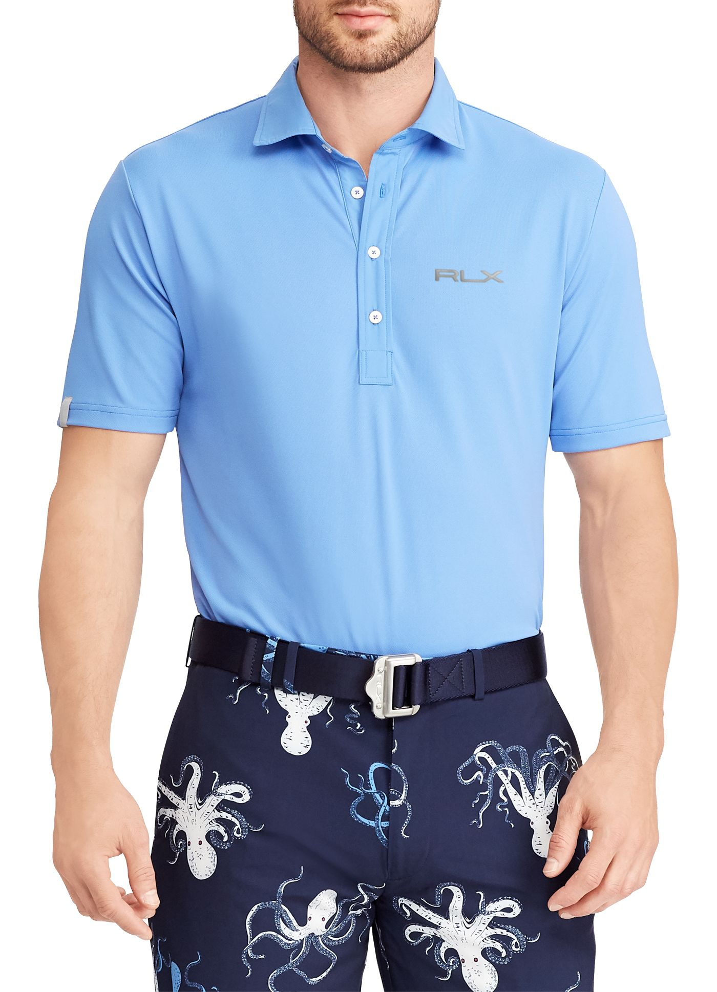 RLX Golf Men's Billy Horschel Tech Pique Golf Polo
