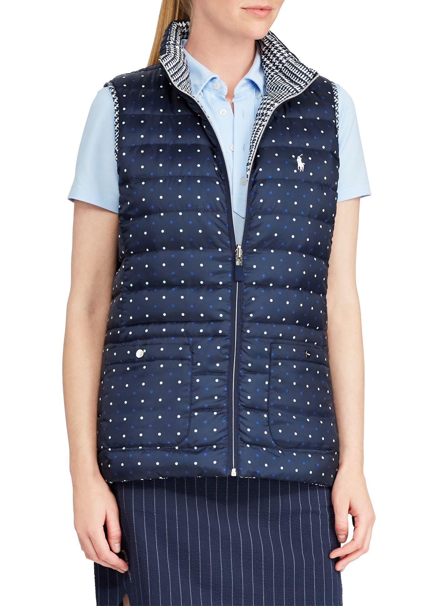 Ralph Lauren Golf Women's Reversible Golf Puffer Vest