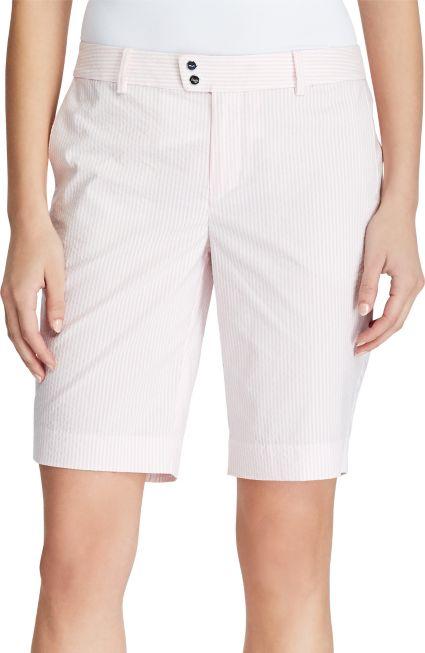 RLX Golf Women's Seersucker Par Golf Shorts