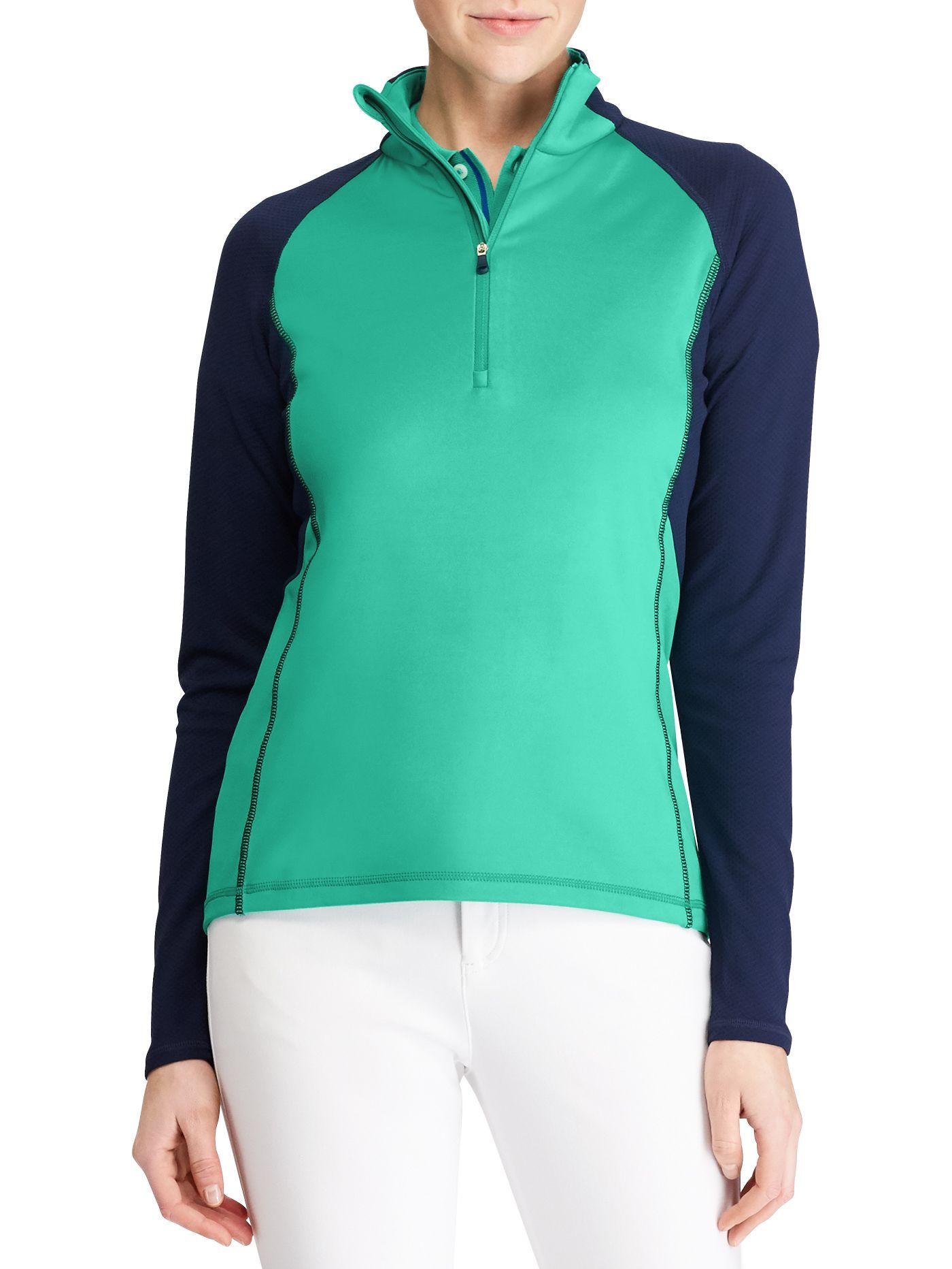 RLX Golf Women's Stretch Jersey ½ -Zip Golf Pullover