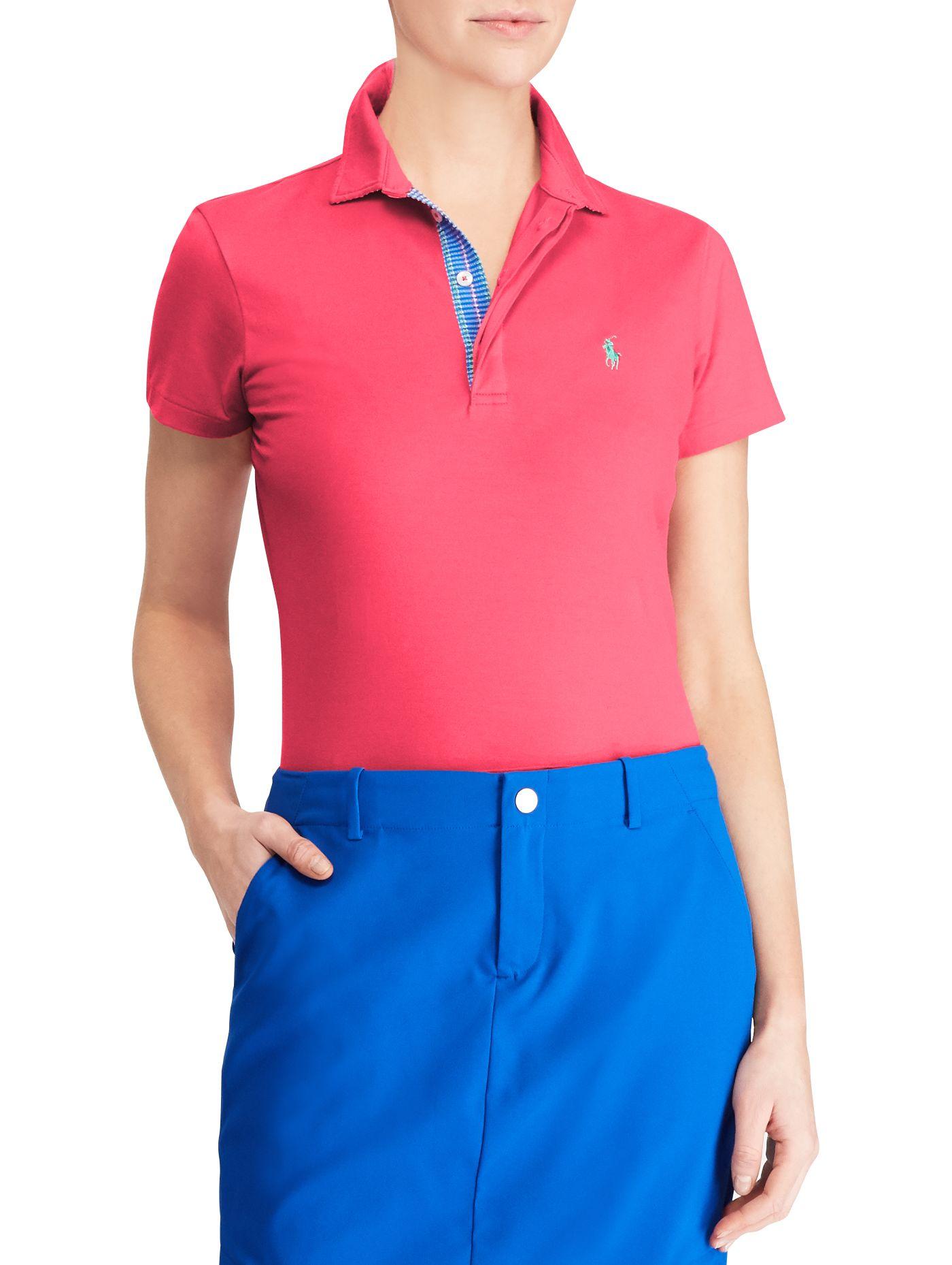 Ralph Lauren Golf Women's Stretch Lisle Golf Polo