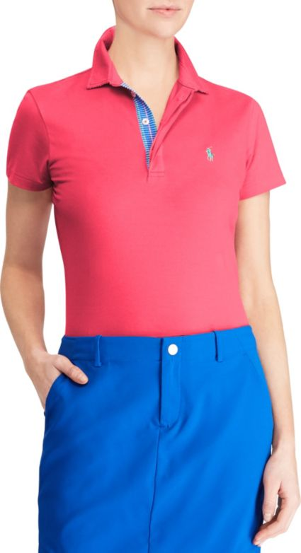 Ralph Lauren Golf Women's Stretch Lisle Golf Polo