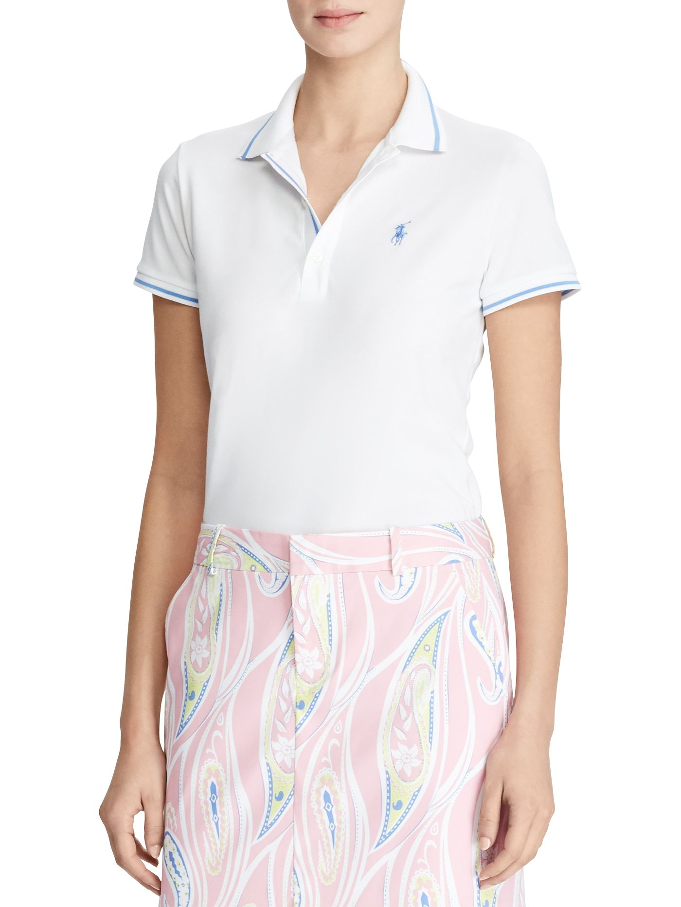 Ralph Lauren Golf Women's Short Sleeve Tailored Performance Golf Polo