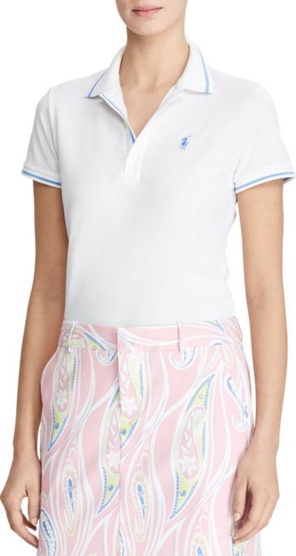 Ralph Lauren Golf Women's Short Sleeve Tailored Performance Golf Polo