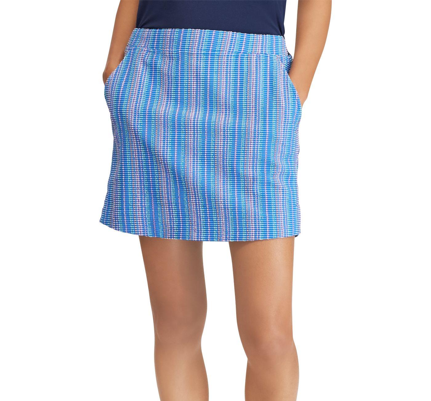Ralph Lauren Golf Women's Seersucker Golf Skort