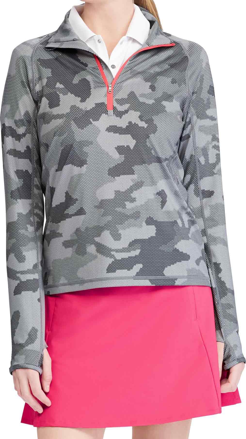 RLX Golf Women's Billy Horschel Golf Quarter-Zip, Size: Medium, Hexagon Camo thumbnail