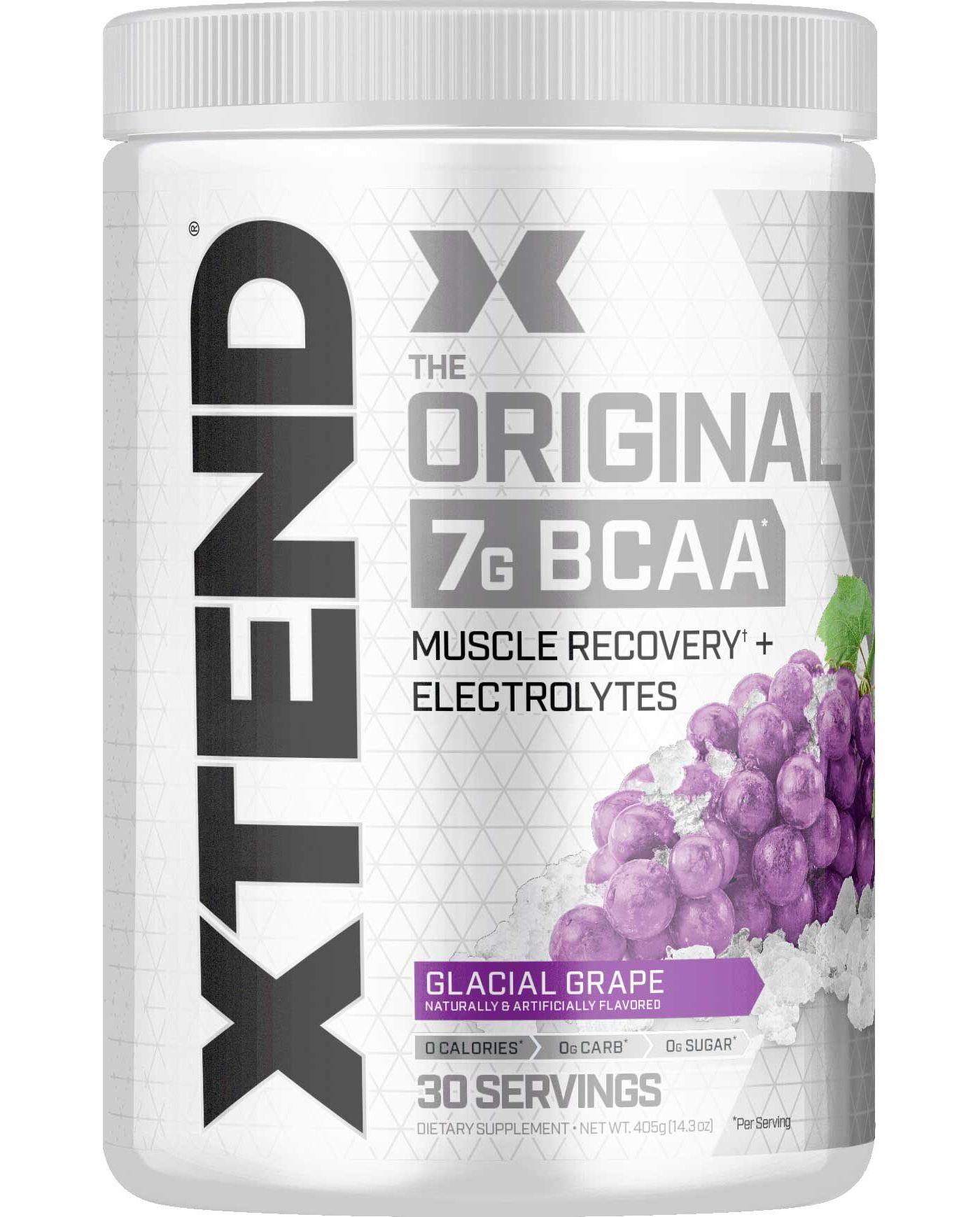 Scivation XTend BCAAs Glacial Grape 30 Servings