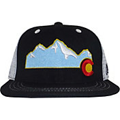 Aksels Men's Colorado Mountain Flat Brim Hat