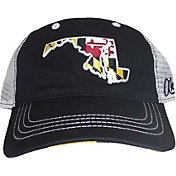 Aksels Men's Maryland State Flag Curved Brim Hat