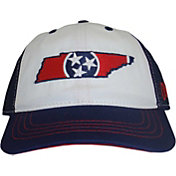 Aksels Men's Tennessee State Flag Curved Brim Hat
