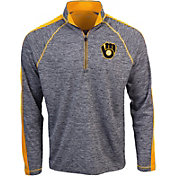 Antigua Men's Milwaukee Brewers Advantage Quarter-Zip Pullover