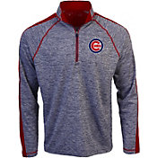 Antigua Men's Chicago Cubs Advantage Quarter-Zip Pullover
