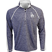 Antigua Men's Los Angeles Dodgers Advantage Quarter-Zip Pullover