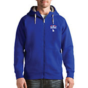 Antigua Men's 2018 World Series Los Angeles Dodgers Royal Victory Full-Zip Sweatshirt