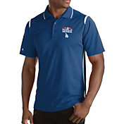 Antigua Men's 2018 World Series Los Angeles Dodgers Royal Merit Performance Polo