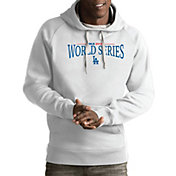 Antigua Men's 2018 World Series Los Angeles Dodgers White Victory Pullover