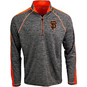 Antigua Men's San Francisco Giants Advantage Quarter-Zip Pullover