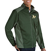 Antigua Men's Oakland Athletics Revolve Full-Zip Jacket
