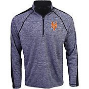 Antigua Men's New York Mets Advantage Quarter-Zip Pullover