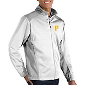 Antigua Men's Pittsburgh Pirates Revolve Full-Zip Jacket