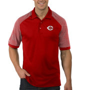 Antigua Men's Cincinnati Reds Engage Red Polo