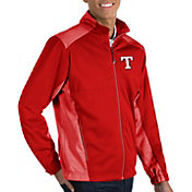 Antigua Men's Texas Rangers Revolve Full-Zip Jacket