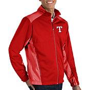 Antigua Men's Texas Rangers Revolve Full-Zip Jacket
