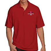 Antigua Men's 2018 World Series Champions Boston Red Sox Red Pique Performance Polo